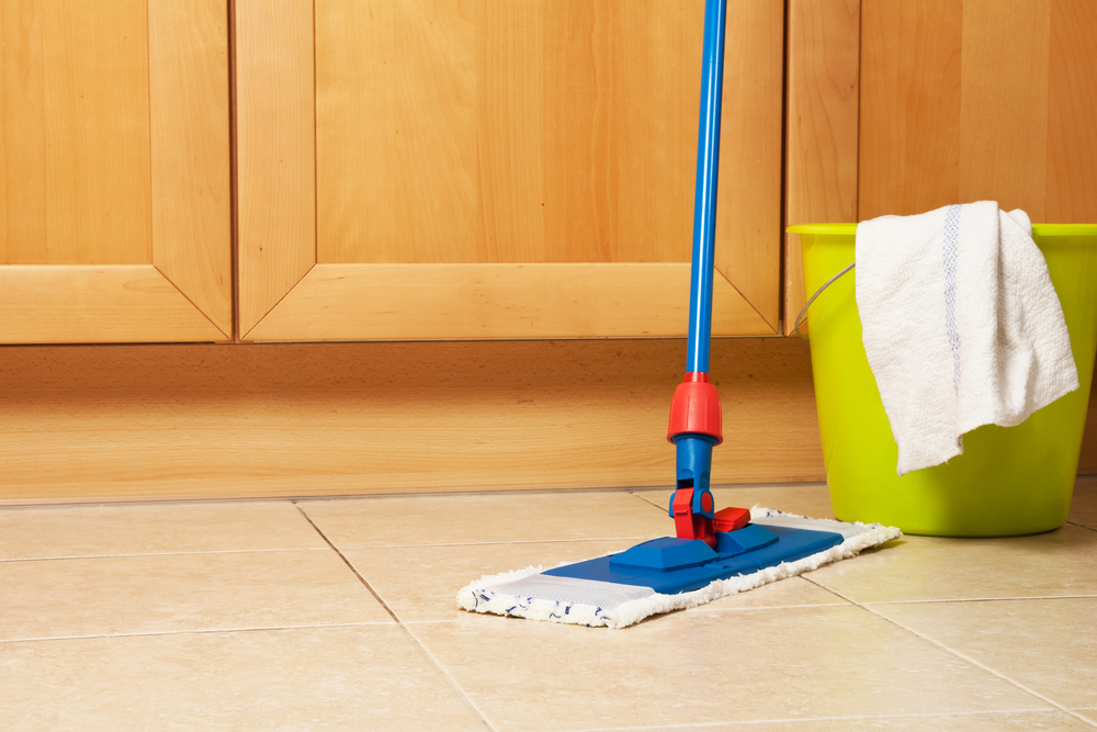 how to clean kitchen floors learning