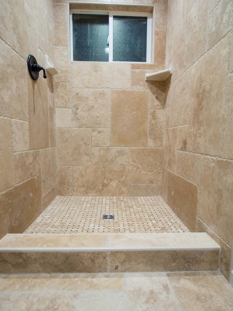 travertine tile versailles and french