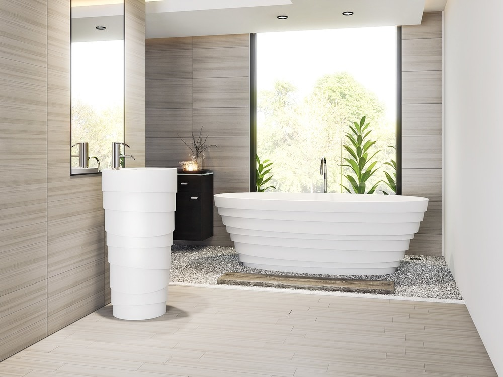 how much porcelain ceramic tile to
