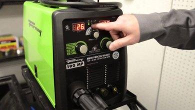 cara setting ampere las listrik