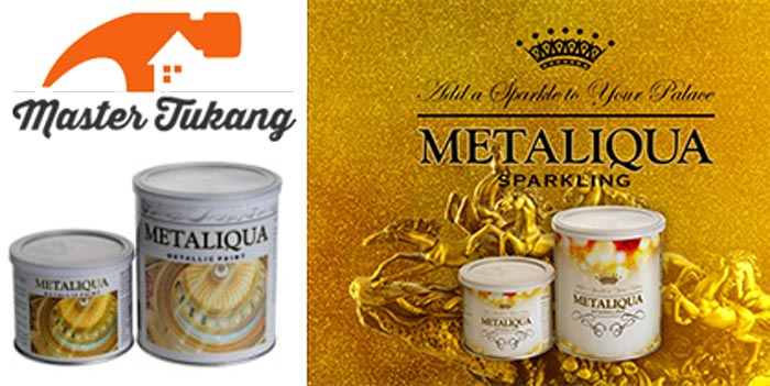 Cat metalic berkualitas metaliqua