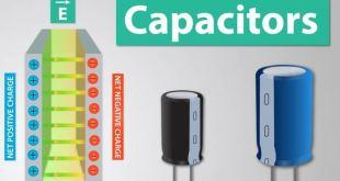 kapasitor komponen dasar elektro
