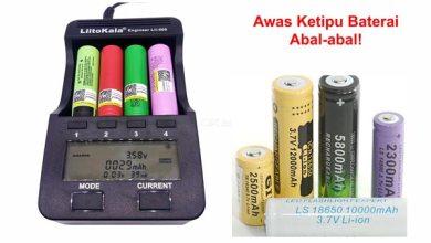 Photo of Cara Tes Kapasitas Baterai Lithium 18650 dengan Akurat