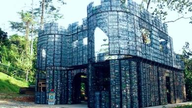Photo of Botol Plastik untuk Material Dinding Bangunan