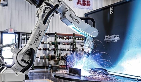 pengelasan robot
