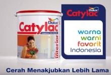 harga cat catylac 2021