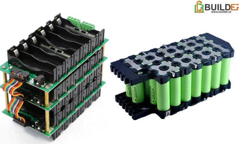 Komponen Penyusun Baterai Pack
