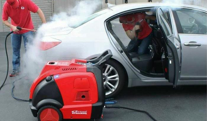 mesin steam cuci mobil