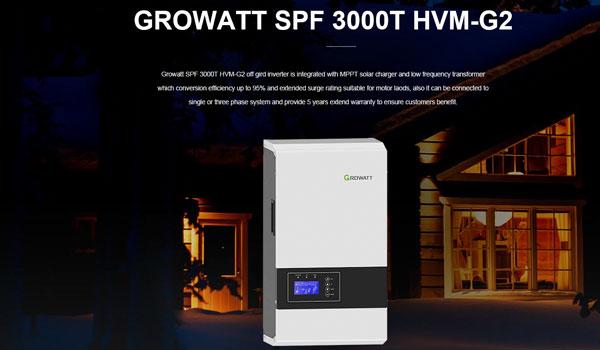 inverter Growatt Off Grid SPF 3000T HVM-G2