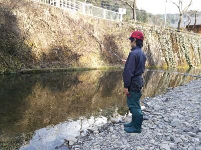 養沢毛鉤専用釣り場