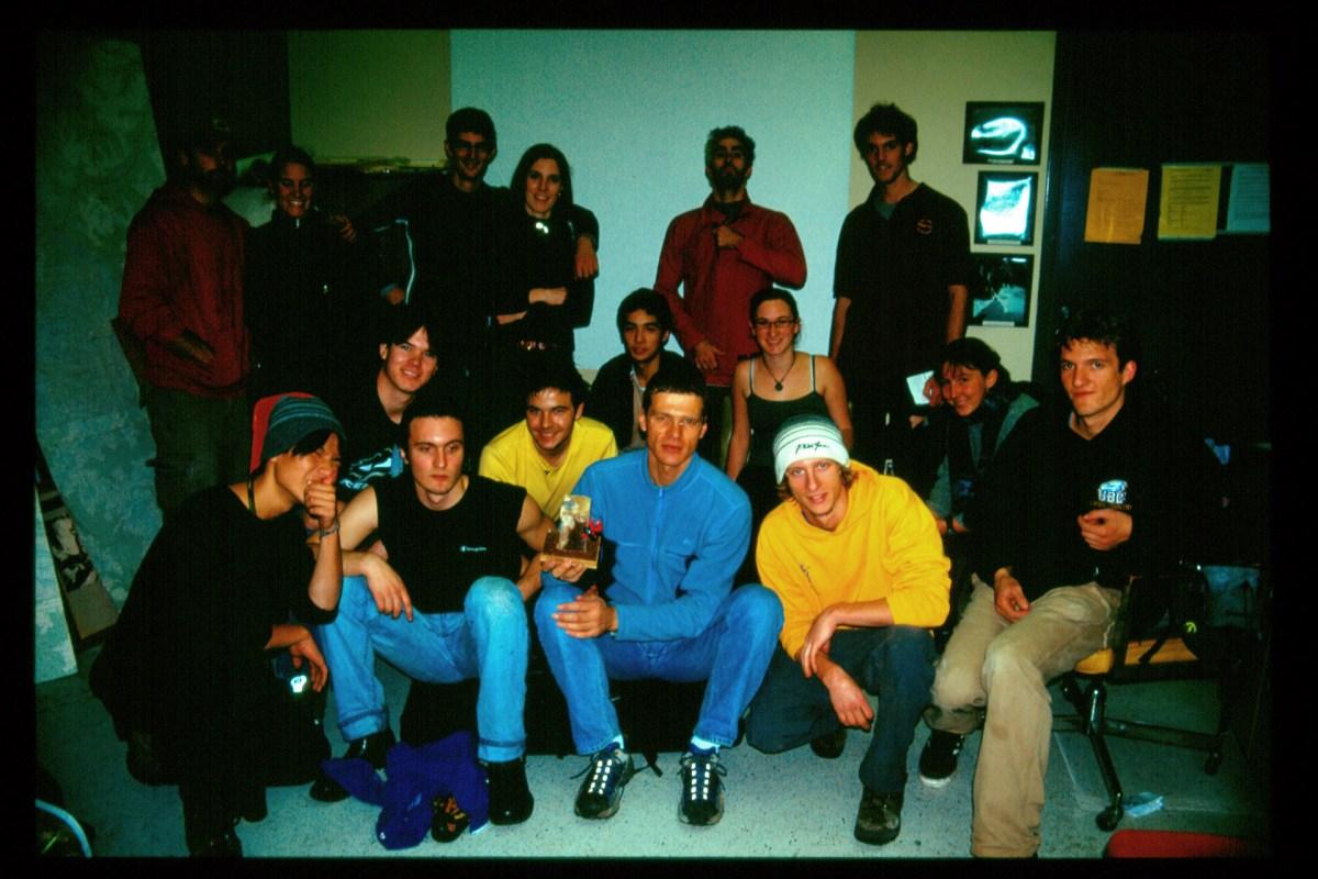 Comp 2 participants. Oct 2004.