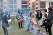 वेव सिटी एनएच24 के निवासियों ने मनाया लोहड़ी का त्योहार