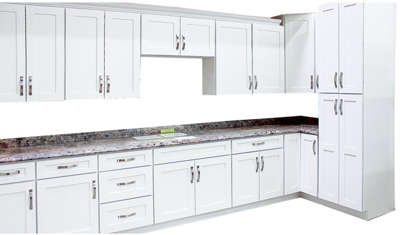 Arctic White Shaker Cabinets Visit Our Showroom At Builders Surplus