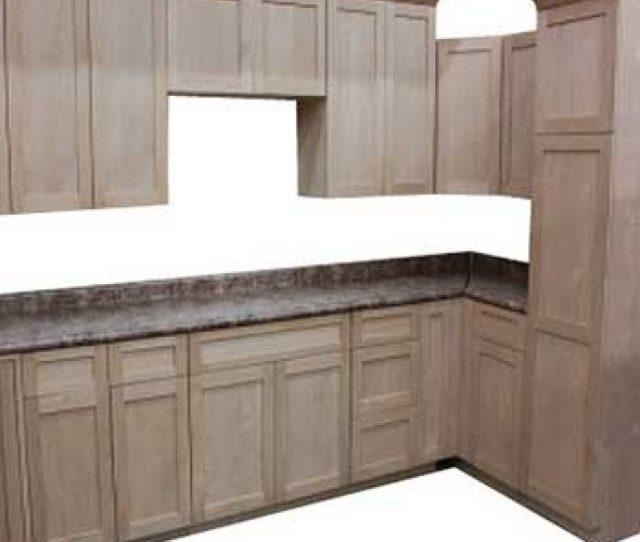 Unfinished Lancaster Alder Kitchen Cabinets