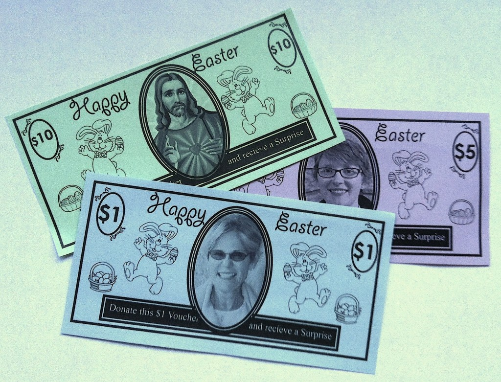 Good Samaritan Easter Bucks