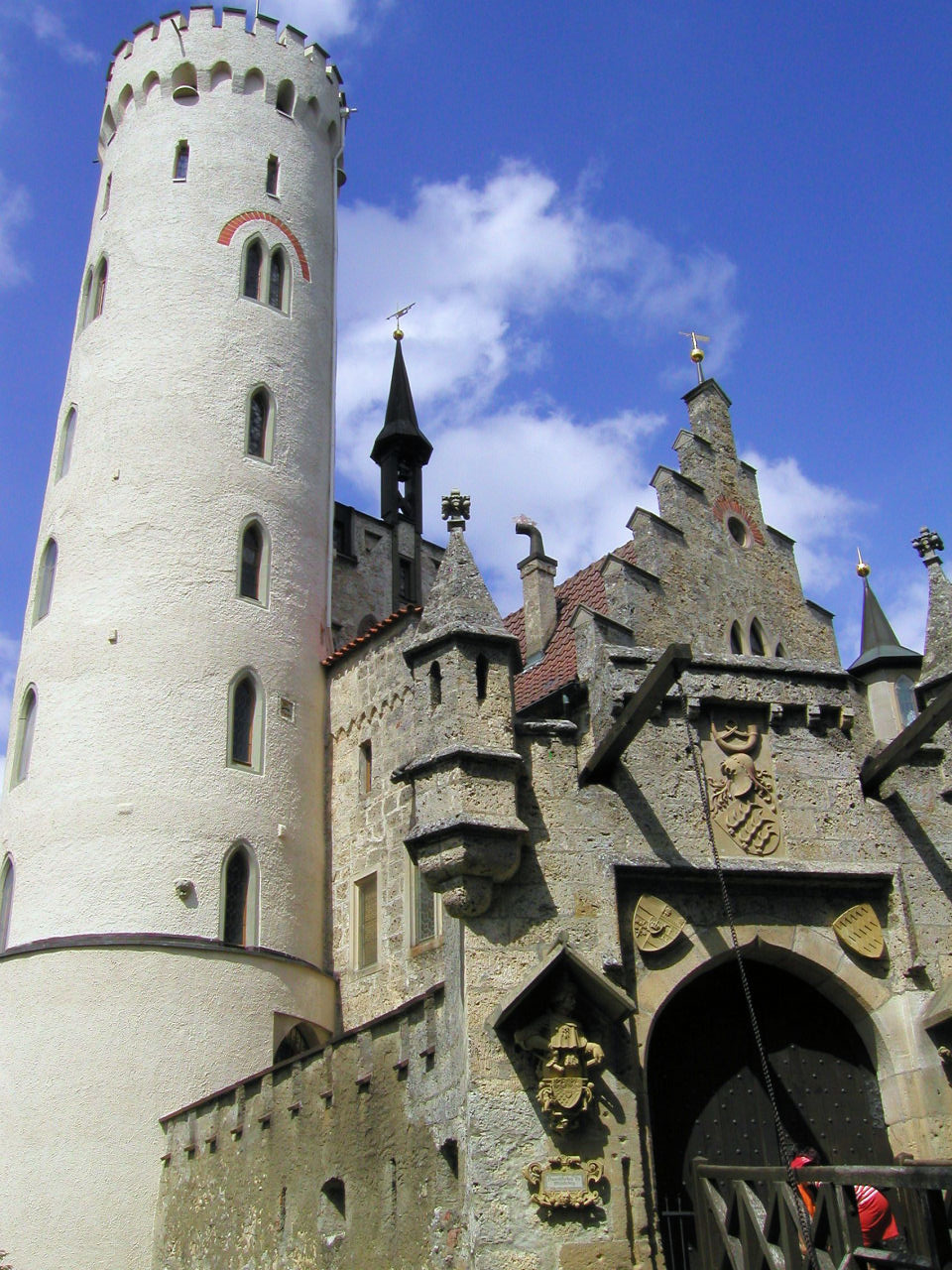 Lichtenstein Castle Baden Wurttemberg Germany Photo