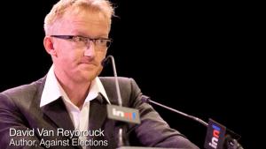 David Van Reybrouck, proponent of lottocracy