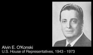 Alvin O'Konski, U.S. Comgressman