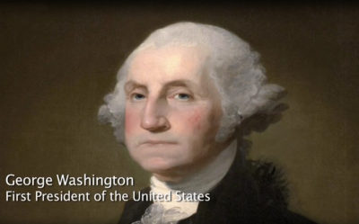 George Washington, first president of the United States