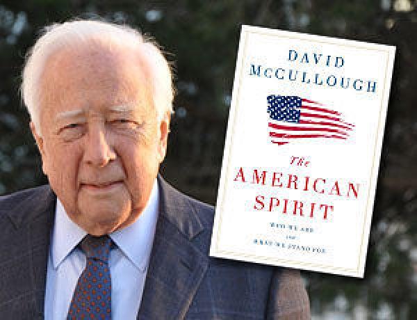 Historian David McCullough. Photo by William B. McCullough
