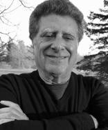 Ted Wachtel, informal black & white image