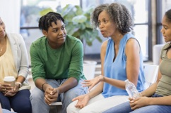Talking in a restorative circle