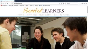 Liberated Learners website