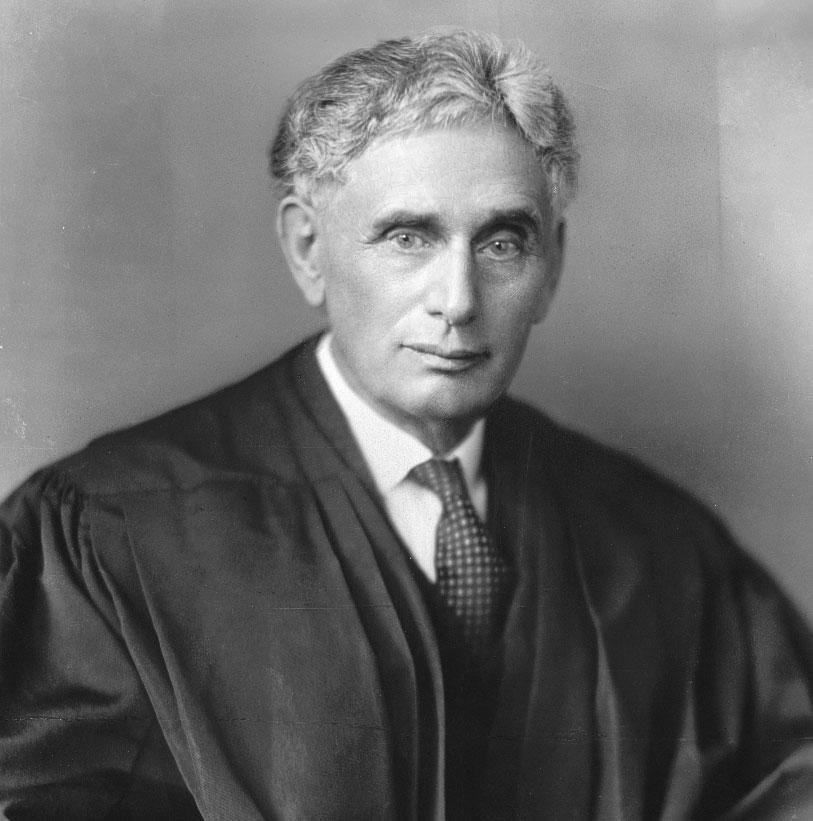 U.S. Supreme Court Justice Louis Brandeis