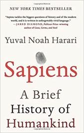 Sapiens book cover - relating to GLIA