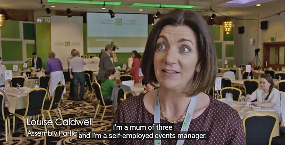 Irish Citizens' Assembly: Louise Caldwell