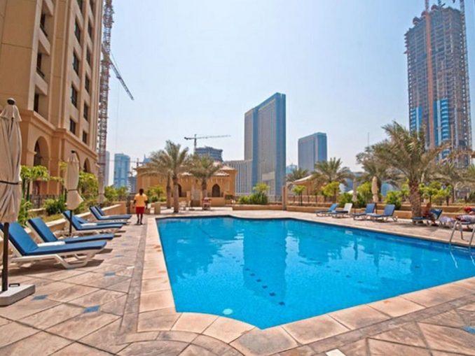 JBR Jumeirah Beach Residences Sadaf - Swimming Pool
