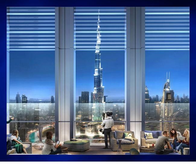 Burj Royale by Emaar Night View