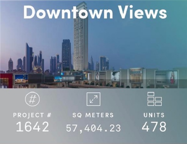 Downtown Views - Dubai - Apartment for Sale - Project Info