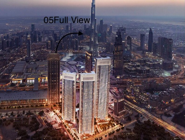 Downtown Views - Dubai - Apartment for Sale