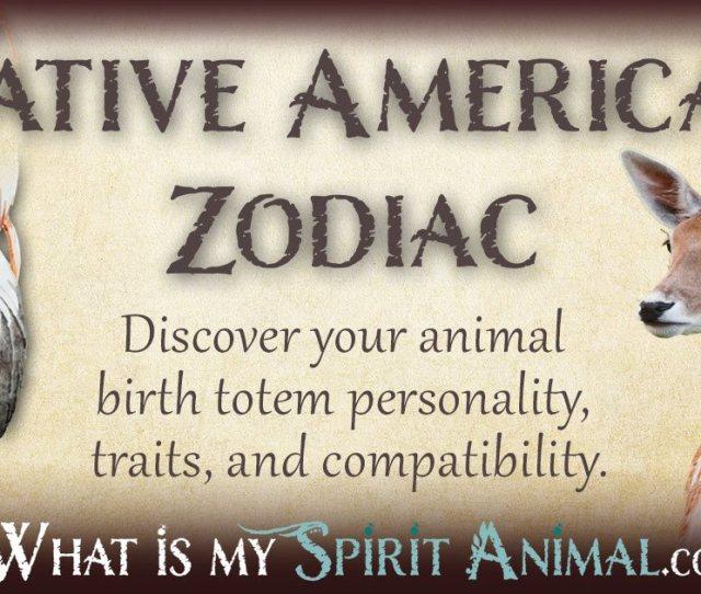 Native American Zodiac Signs X