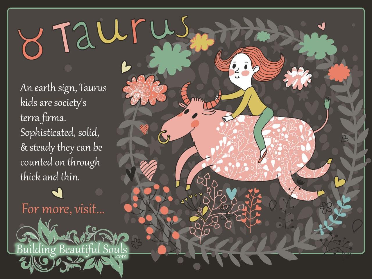 The Taurus Child Taurus Girl Amp Boy Traits Amp Personality
