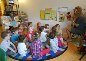 Day Camp/Summer Camp circle time in New Paltz