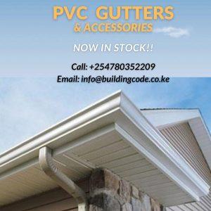 PVC Gutters on sale