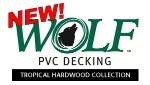 NEW WOLF DECKING ROSEWOOD AMBERWOOD TROPICAL HARDWOOD COLLECTION PVC DECKING LUMBER SPECIAL ORDER DISCOUNT LANCASTER ELIZABETHTOWN PA