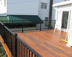 bob reed greenheart ipe decking aluminum railing