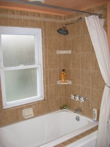 Remodeling a Bungalow :: New Second Floor Bath