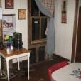more termite damage corner of the kitchen