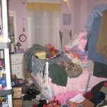 "on location with ""Hoarders""room :: used for storage during remodel"