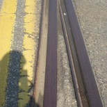 train tracks converging outside Baltimore's Second Change