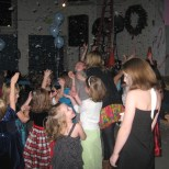 IHM's annual daddy/daughter snowball dance 1st year w/ both girls