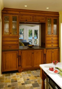 Antique Hutch HeartPine from Crown Point