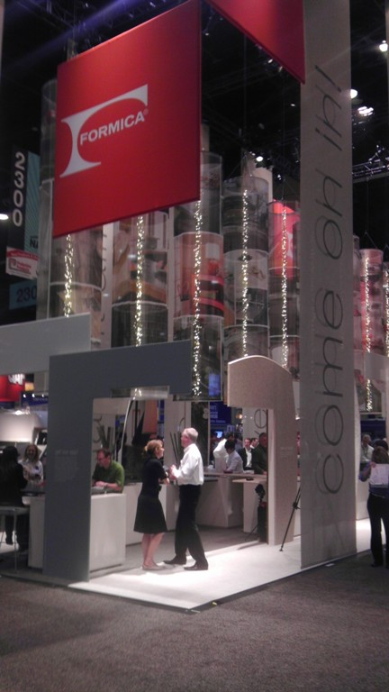 Formica booth at IBS 2012