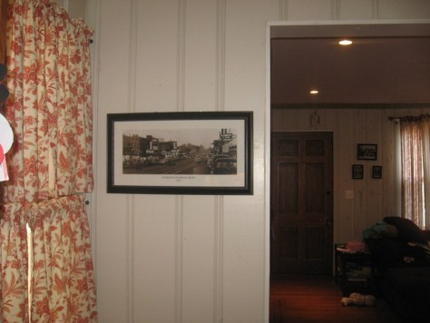 Antique Photo Framed and Hung-Baltimore