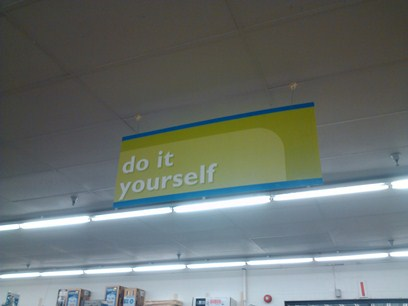 Do It Yourself Ailse at KMart