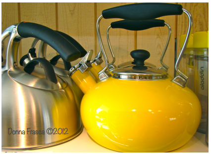 Yellow Kettle Donna Frasca